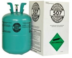 What is the difference between R404A and refrigerant R507?