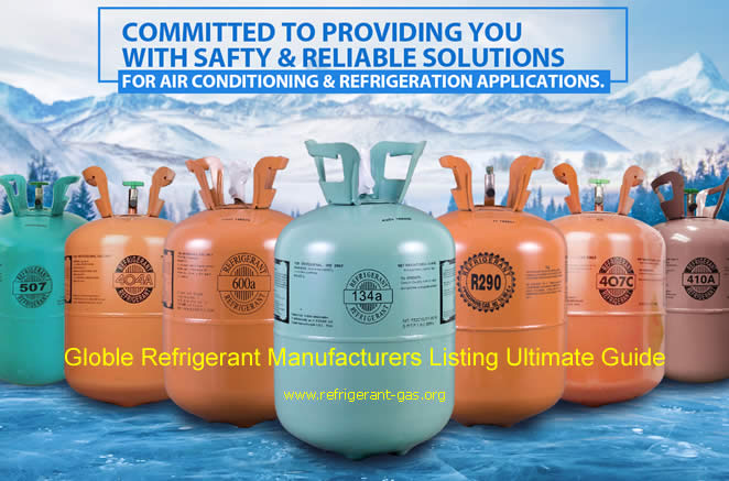 Globle Refrigerant Manufacturers Listing Ultimate Guide