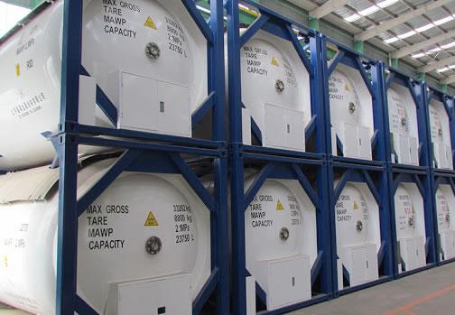 Isobutane TANK-R600a GAS