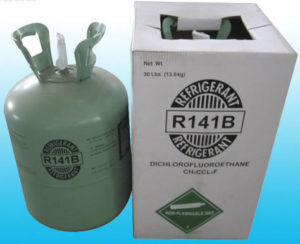 New refrigerant gas-R141B
