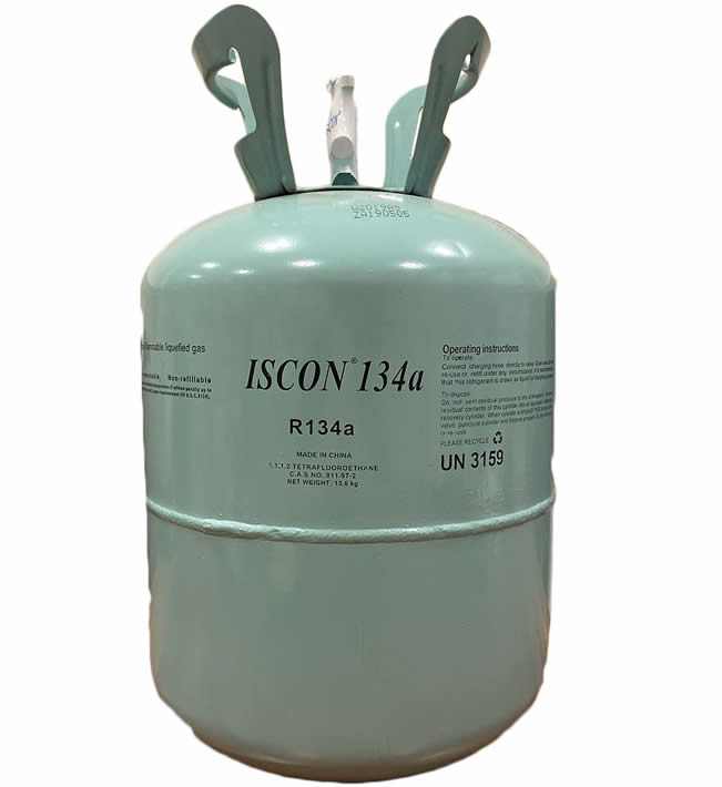 Refrigerant Gas R134a Isecon&Iscon packing