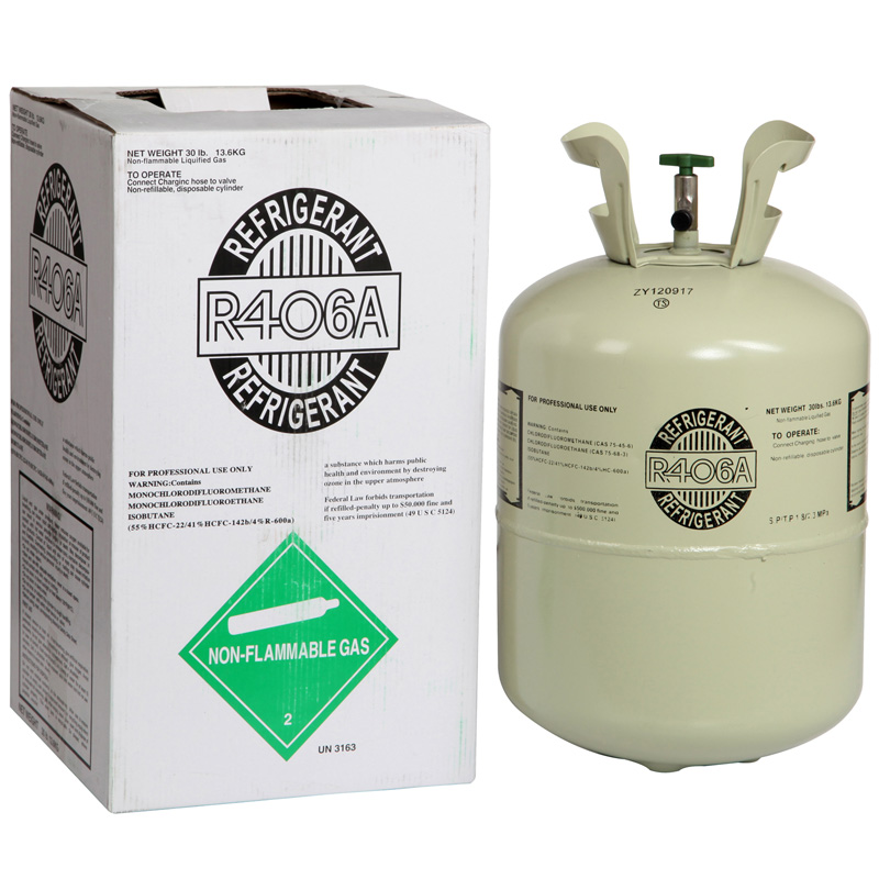 the difference between R406A and R407c refrigerants?