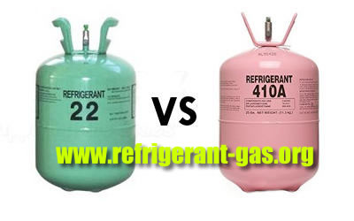 The Top Difference R22 vs R410A Refrigerant?